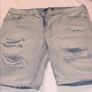 Pacsun distressed shorts